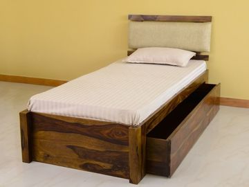 Belle Single Bed with Storage