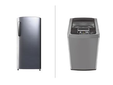 Fridge and Washing Machine Combo